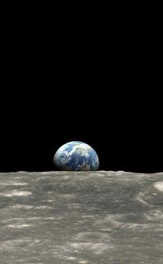 La Tierra desde la Luna.