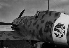 """Photo: Fighter Macchi MC.202 """"Folgore"""" 81st Squadron of the Italian Air Force in North Africa"""