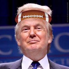 Sports commentator Donald Trump on Tom Brady, football