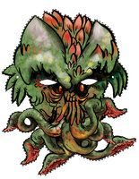 printable Cthulu Mask by ~mannycartoon at deviantART