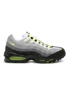 brand new b7655 28dad Air Max 95 2010 Release Cool Grey, Neon Yellow 609048-072-2010 Air