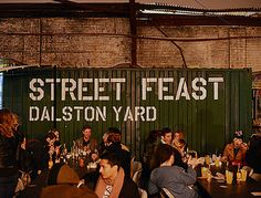 Pop up diners and street food including breddos tacos