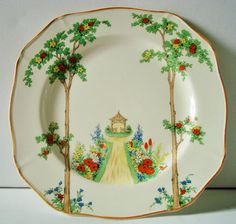 Hey I found this really awesome Etsy listing at //. Square PlatesVintage TablewareFood WishesGreen ChinaAlfred MeakinTeacupsChina ... & Alfred Meakin England China   dinner plate sets   Pinterest   Alfred ...