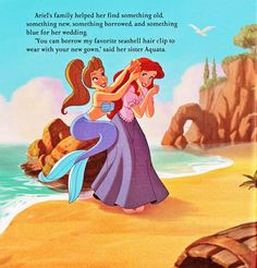 Walt Disney Book Images - The Little Mermaid: Ariel's Royal Wedding - Walt Disney Characters Photo (39369254) - Fanpop