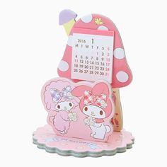 My Melody calendar (My Melody shaped stand Calendar)