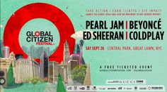 Don't miss Global Citizen Festival this Saturday!