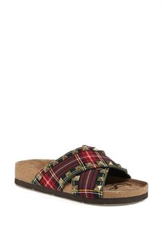 Sam Edelman 'Arina' Plaid Sandal available at #Nordstrom. I just placed an order for these plaid sandles. If you love plaid there are 40 pair in the warehouse as of 4/26/2014