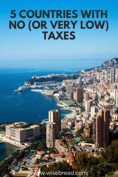 Thinking of moving abroad and want to choose a destination with no or low tax? We've listed 5 Countries With No (Or Very Low) Taxes that will get your personal finances ahead! Mad Money, Finance Tips, Finance Blog, Money Saving Tips, Money Tips, Get Out Of Debt, Early Retirement, Budgeting Money, Best Blogs