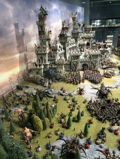 : Warhammer Terrain, 40k Terrain, Wargaming Terrain, Game Terrain, Fantasy Castle, Fantasy Map, Warhammer Fantasy, Warhammer Aos, Warhammer Models