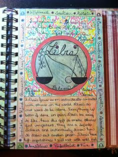 Journal prompt - libra