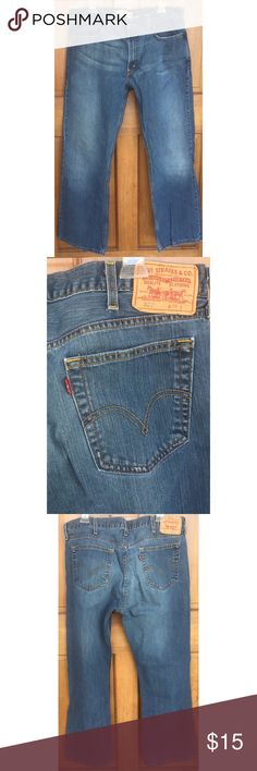 Levi's Low Boot 527 100% Cotton Jeans 38x32 Levi's Low Boot 527 jeans, 38x32. Minor wear and in nice overall condition. Smoke free home. Thanks! Levi's Jeans Bootcut