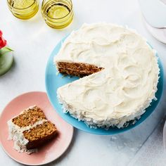 From a classic carrot-coconut cake to rhubarb custard tart and ricotta pie with amarena cherries, these are some of our favorite Easter sweets. Cake Recipes, Dessert Recipes, Dinner Recipes, Mothers Day Cake, Almond Cakes, Just Desserts, Easter Desserts, Easter Recipes, Carrot Cake