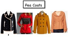 cute pea coats