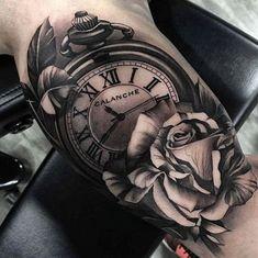 74 Mejores Imágenes De Tatuajes De Relojes En 2019