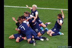 US Women's Soccer Wins Gold