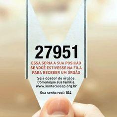 #vivapositivamente campanha criativa incentiva doacao de orgaos #vaidoa http://www.samshiraishi.com/evite-filas-doe-orgaos-vaidoa/