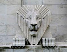 Art Deco Lion