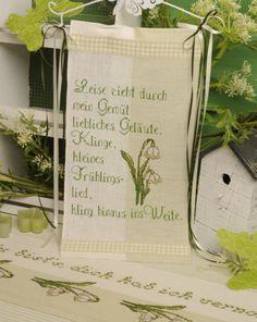 Frühlingshaft ... Design : Gerlinde Gebert Shop: www.gebert-handarbeiten.de