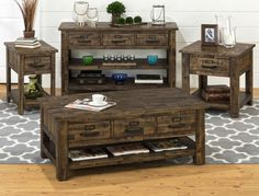 Cannon Valley Cocktail Table | Jofran | Home Gallery Stores