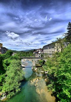 Castelnuovo di Garfagnana, Ponte Grande © Giacchè Attilio Lucca Tuscany