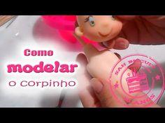 Como modelar um corpinho de Biscuit - Sah Passa o passo - Especial Sah Biscuit 15 anos #06 - YouTube