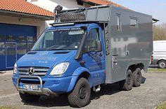 Mercedes-Benz Sprinter 6x6 Oberaigner as camper in Kraiburg