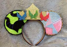 Sleeping Beauty Themed Mouse Ears by TheAvengears on Etsy