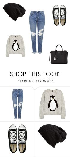 """""""Untitled #317"""" by deedee-07-love on Polyvore featuring Topshop, Converse, Free People and Yves Saint Laurent"""