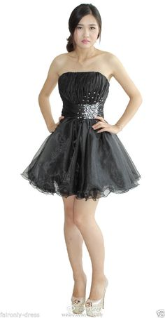 FairOnly Short Mini Homecoming Cocktail Party Prom Dress Size 6 8 10 12 14 16