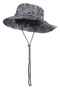 Camouflage Bucket Hats Wide Brim Sun Fishing Bucket Hat (Brown Camo) at Amazon…