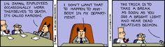 The Dilbert Strip for November 2, 1993