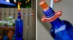 reciclado de botellas de vidrio manualidades - Buscar con Google