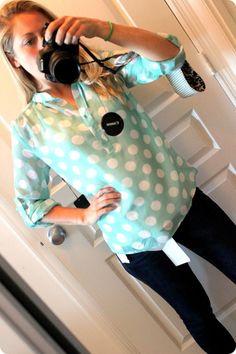 love the big polka dots