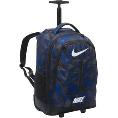 Nike Accessories Rolling Backpack (Game Royal Camo) Nike. $63.74. Save 33%!