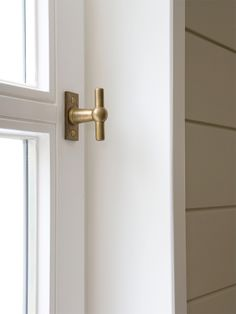 Chemin De Fer, the original Belgian window handle made by Lerou.