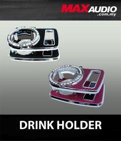 VIP Diamond Pink, White, Black Carbon Fiber Cup & Phone Holder [BK33]