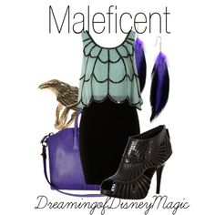 Maleficent outfit :)
