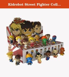 Kidrobot Street Fighter Collectible Mini Figure Series 1 (Blind Box Case of 20). KidRobot Street Fighter Collectible Mini Figure Series 1 (Blind Box Case Of 20). BRAND NEW FACTORY SEALED BOX. 20 RANDOME VINYL STREET FIGHTER MINI FIGURES. VERY HARD TO FIND AND NO LONGER MADE BY THE MANUFACTURE. LIMITED EDITION PRODUCT! A MUST HAVE FOR ALL STREET FIGHTER FANS AND MAKES A GREAT GIFT FOR ALL VINYL FIGURE COLLECTORS.