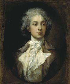 "georgian-empress: ""Portrait of Marie Jean Augustin Vestris by Thomas Gainsborough. 1781. """