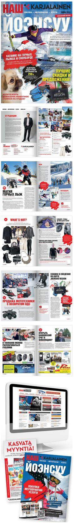 """""""Meidän Joensuu"""" -AIKAKAUSILEHTI; Venäläisille kuluttajille suunnattu aikakausilehti"""