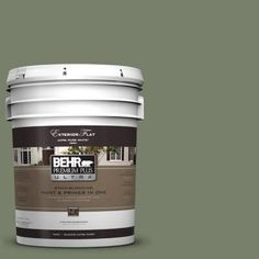 Behr Home Decorators Collection frugal home decor buys with major impact Behr Premium Plus Ultra 5 Gal 430f 5 Bahia Grass Flat Exterior Paint