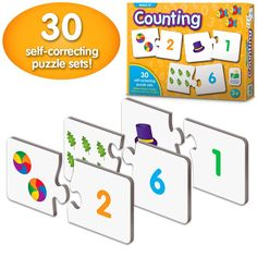 The Learning Journey: Match It! - Counting - Self-Correcting Number and Learn to Count Puzzle ** Be sure to check out this awesome product. (This is an affiliate link) Learning Toys, Learning Resources, Journey Store, Counting Puzzles, Learn To Count, Early Math, Confidence Boost, Learning Numbers, Math Skills