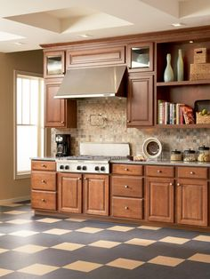 Browse photos of linoleum flooring designs and styles for the kitchen at HGTVRemodels.