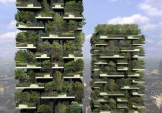 milans vertical forest from stefan boeri architects.