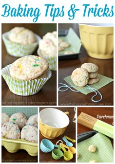 Easter Baking Tips & Tricks, Confetti Cookies & a Giveaway! Confetti Cookies, The Joy Of Baking, Sweet Sauce, Tips & Tricks, Baking Supplies, Baking Tips, Food Hacks, Delicious Desserts, Cake Decorating