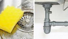 Elimina los malos olores de las tuberías de tu cocina con algunos ingredientes caseros y ecológicos. No dejes de probarlos.