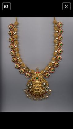 Necklaces – Page 8 – Modern Jewelry Indian Wedding Jewelry, Bridal Jewelry, Gold Jewelry, Jewelery, Jewelry Design Earrings, Gold Earrings Designs, India Jewelry, Temple Jewellery, Indian Jewellery Design