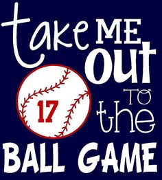 Personalized with your player number Take me out to the ball game baseball mom shirt, t-ball mom softball mom on Etsy, $23.00