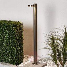 Toriba – Gatelampe av rustfritt stål med LED-lys-Gatebelysning LED-9945024-22