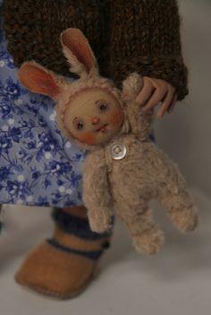 Lizzie's bunny doll.